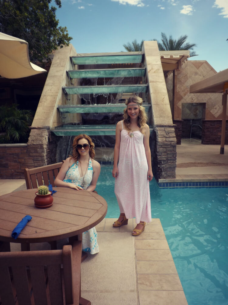 Katrina Jarrett and Aubrey Long Phoenician Resort Scottsdale