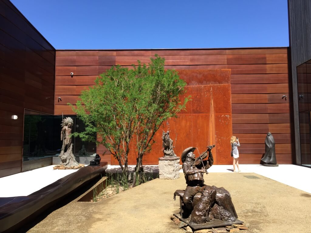 Sculpture Courtyard