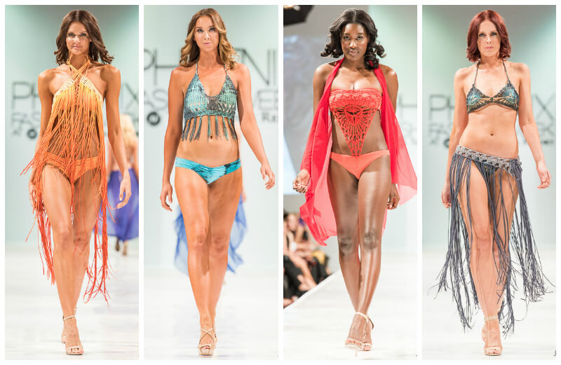 Charmosa Swimwear Phoenix Fashion Week Oscar de las Salas