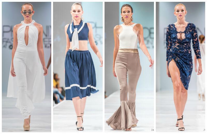 Leola Sky Phoenix Fashion Week Oscar de las Salas