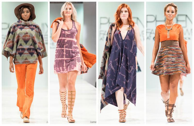 Lily V Phoenix Fashion Week Oscar de las Salas