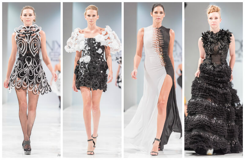 Rocky Gathercole Phoenix Fashion Week 2015 Oscar de las Salas