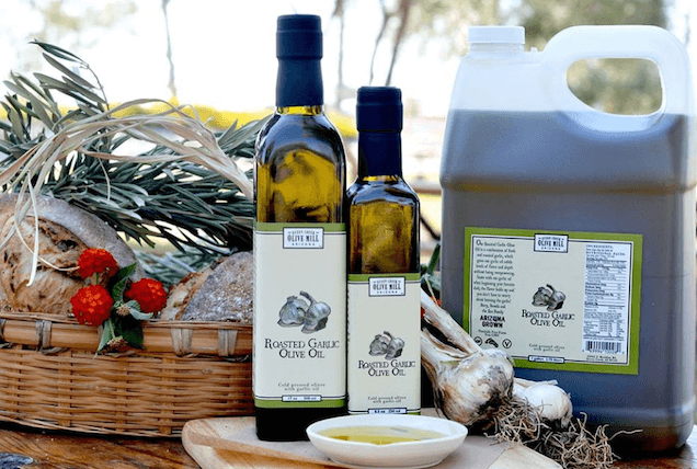 queen creek mill roasted garlic olive oil