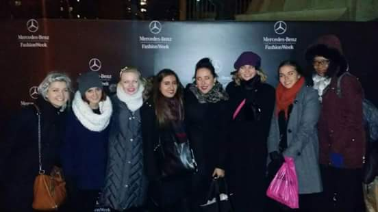 Mercedes-Benz Fashion Week at Lincoln Center. (Arts Hearts Fashion Show) with Arianna Sinclair