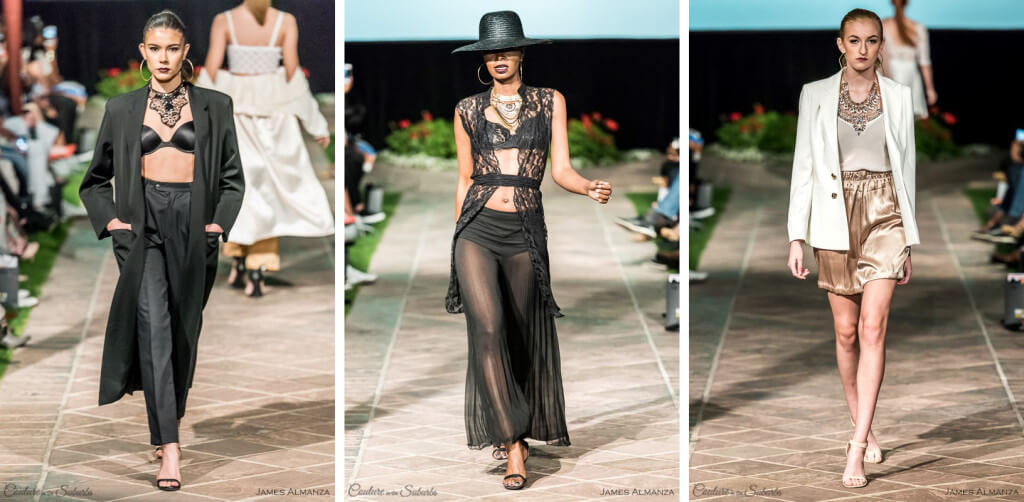 Brandon Hunt Lingerie Inspired Spring into Style 2016 Phx Fashion Week