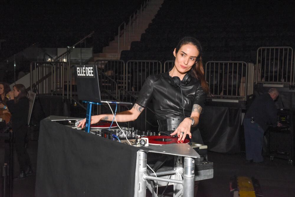 DJ at Impact Garden