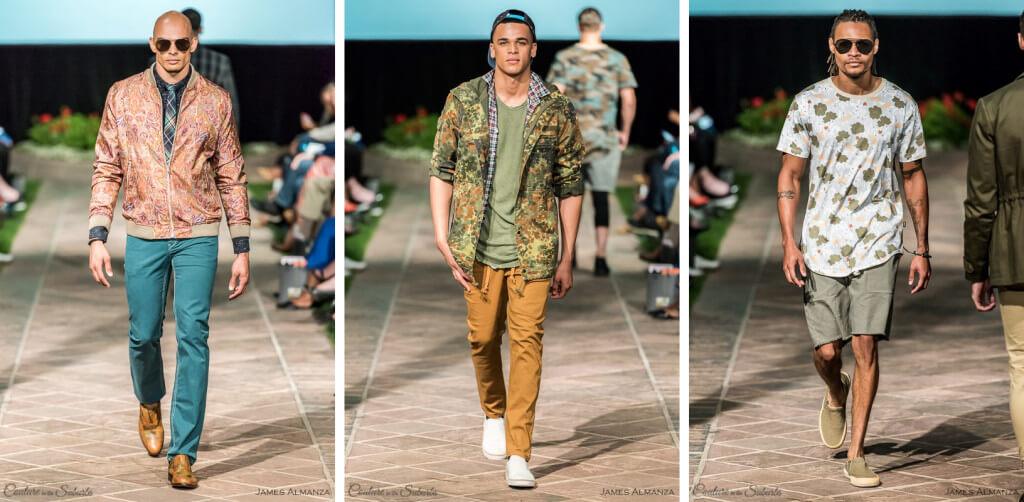 Timothy Boado Men's Green Spring into Style 2016 Phx Fashion Week