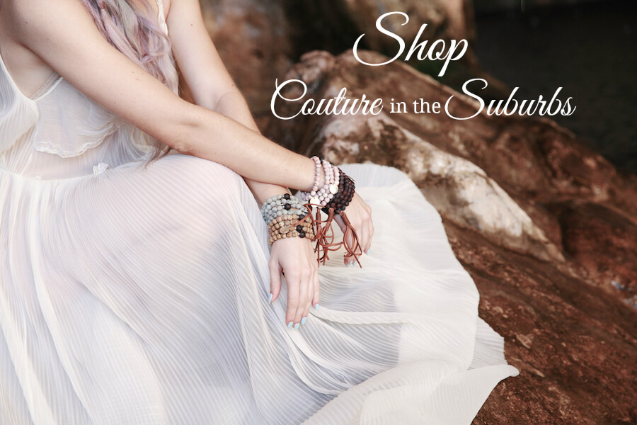 Couture in the Suburbs designer fashion ecommerce melis accessories