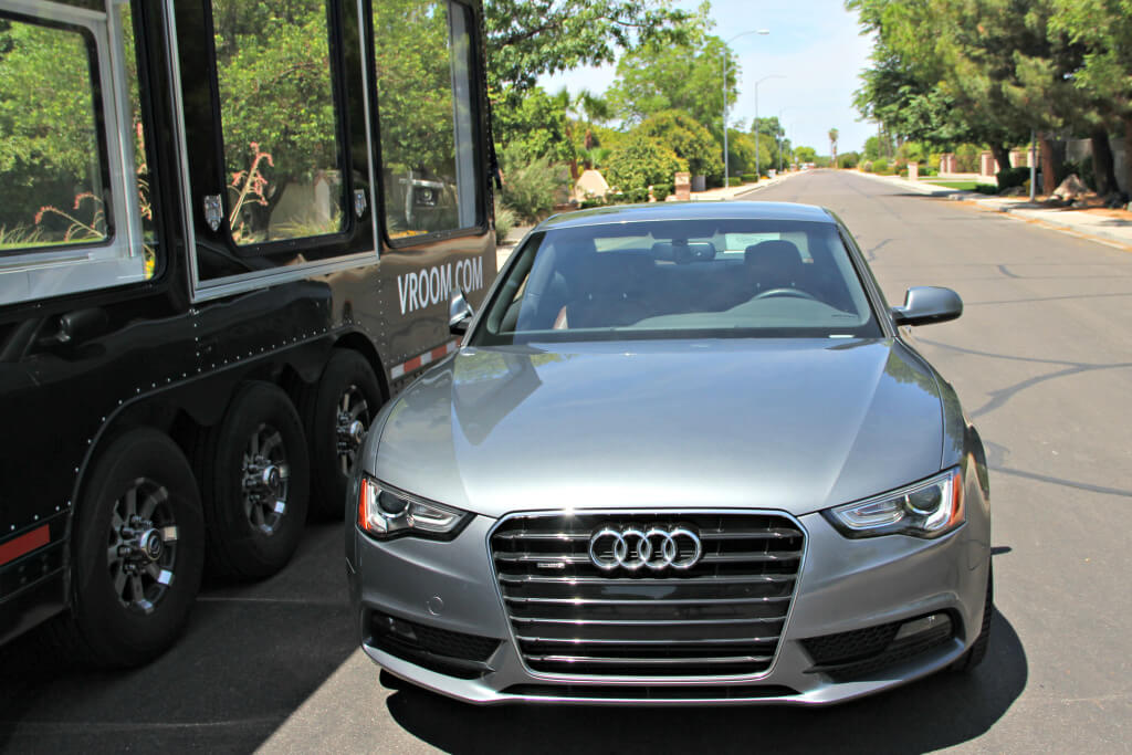 Audi A6 Vroom phoenix couture in the suburbs
