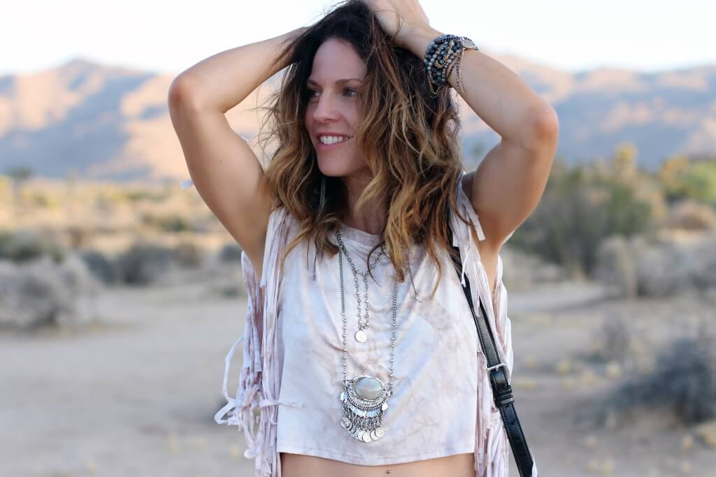 Jessica Hunter Chic Disheveled Fashion Blogger LA