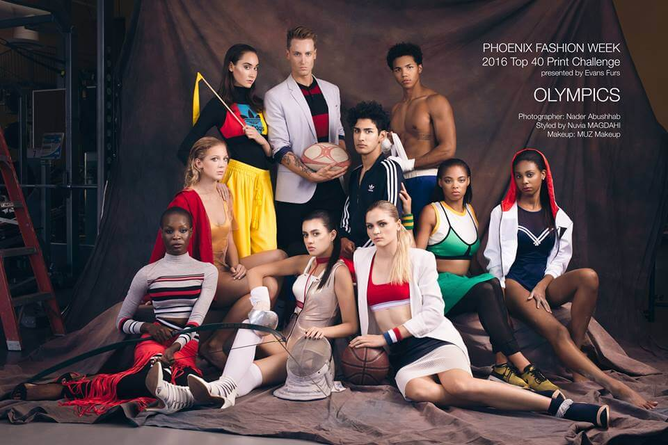 Fashion Olympics NBMA Photography Phoenix Fashion Week 2016