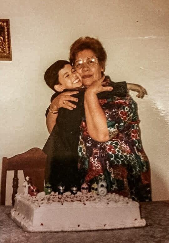rafael santana grandma