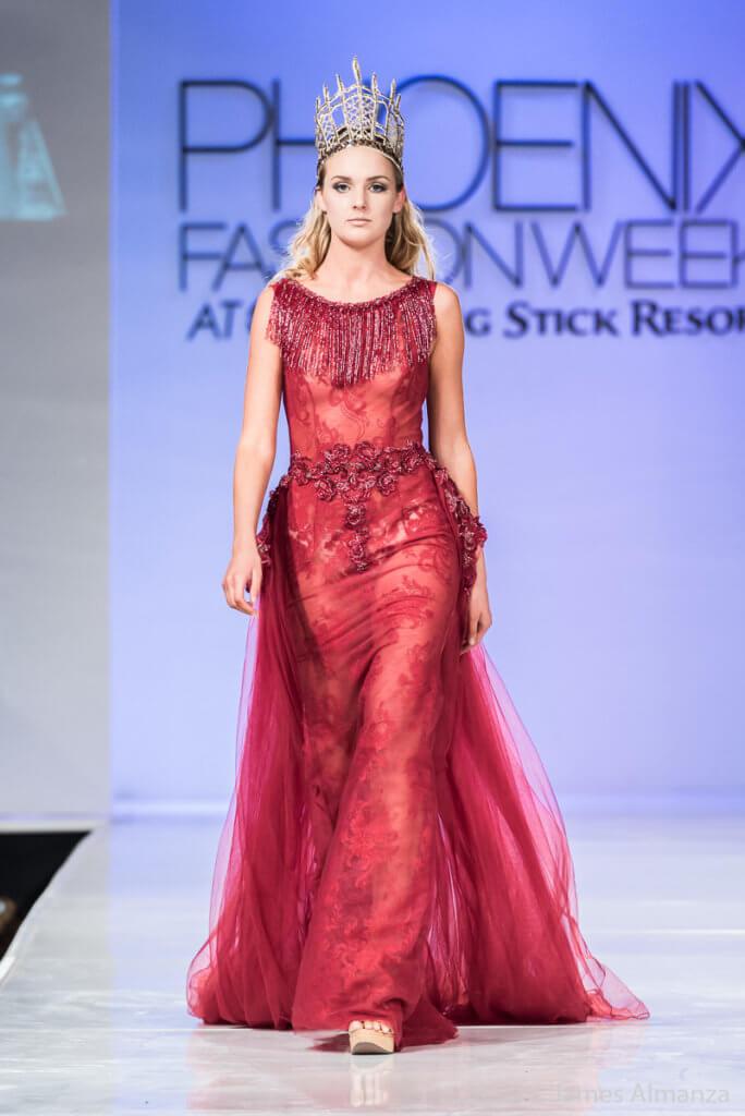 Resty Kuwait Phoenix Fashion Week 2016 finale designer contemporary